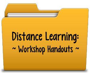 Workshop Handouts